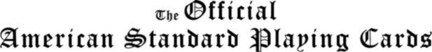American Standard Playing Cards Logo